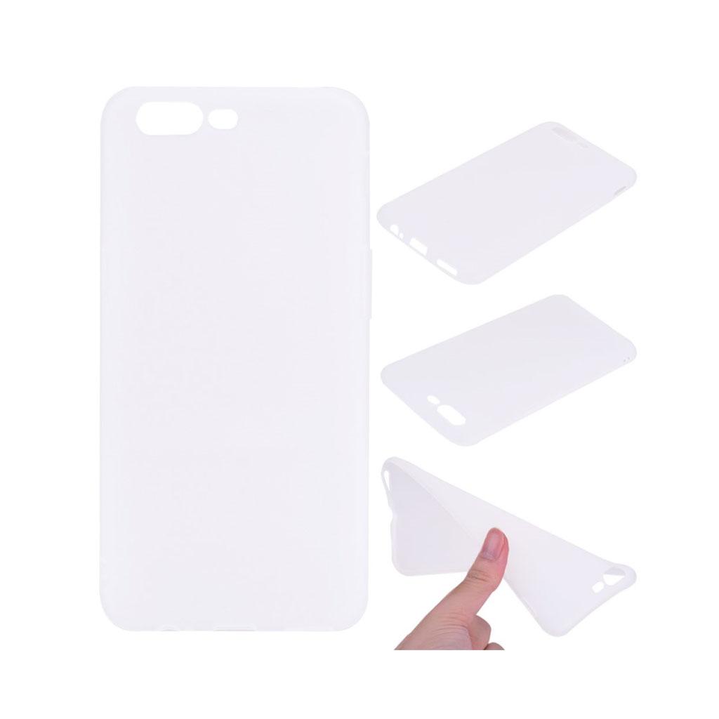 OnePlus 5 Blødt og glat cover - Hvid
