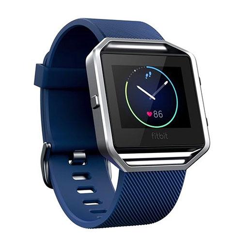 Image of   Blød urrem i silikone til Fitbit Blaze - Blå
