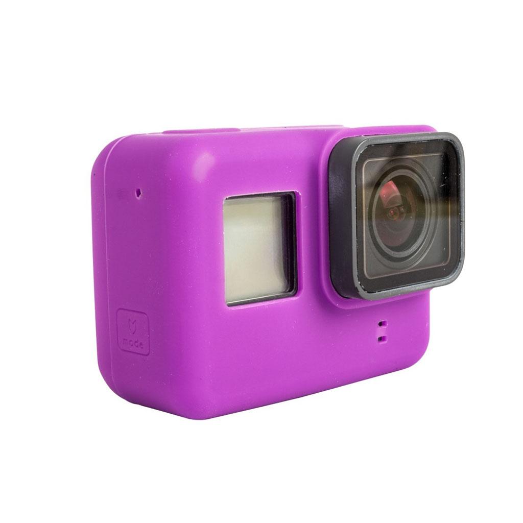 Beskyttende cover til GoPro Hero 5 Black i silicone - Lilla