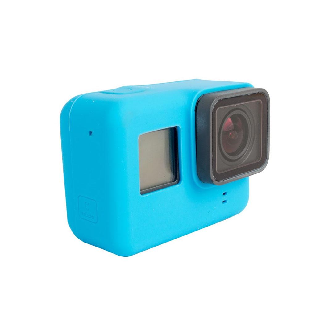 Beskyttende cover til GoPro Hero 5 Black i silicone - Blå