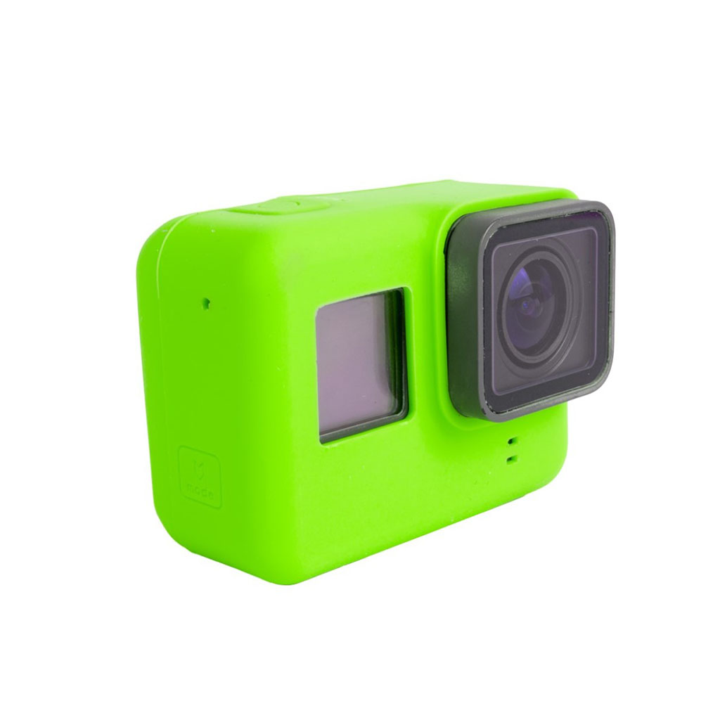 Beskyttende cover til GoPro Hero 5 Black i silicone - Grøn