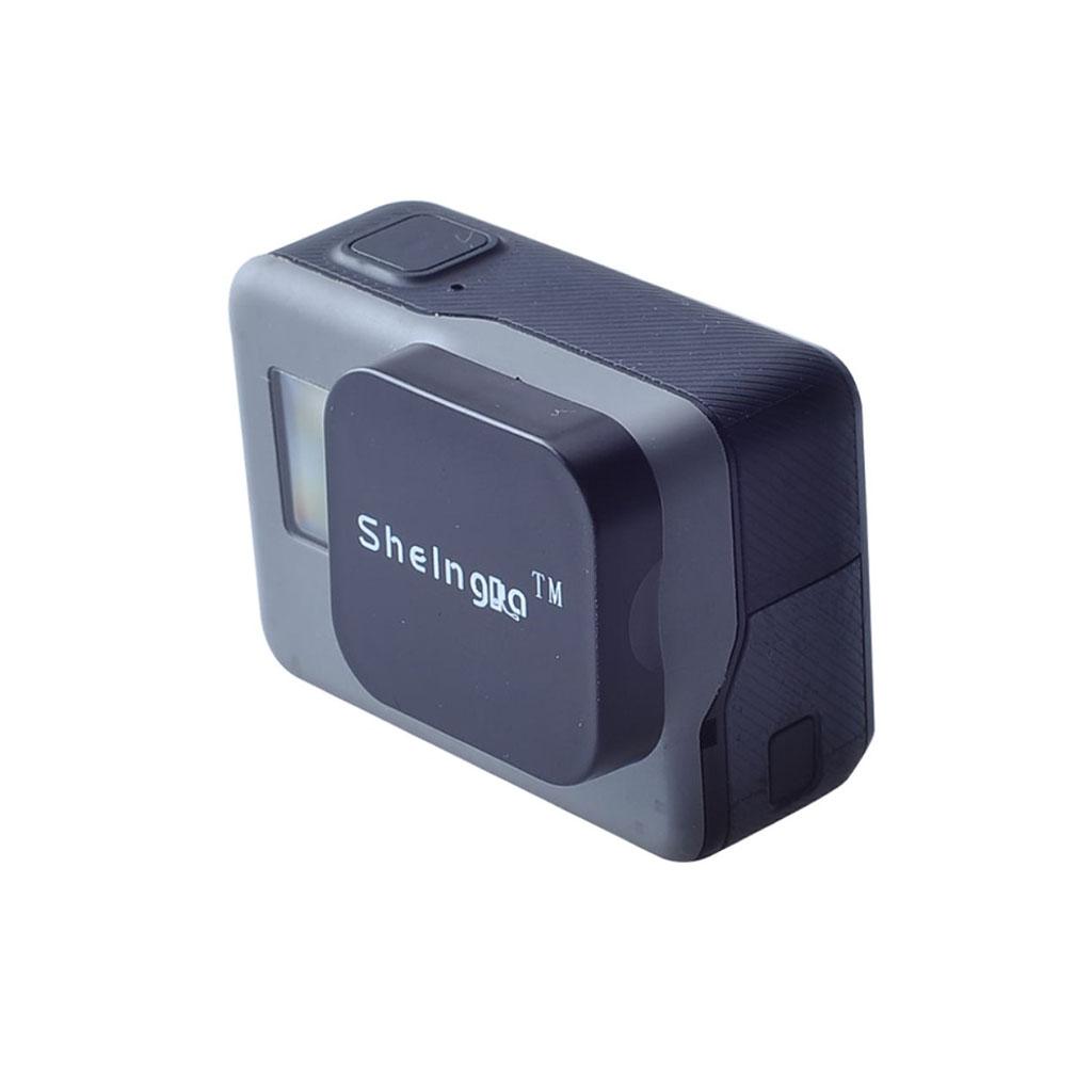 Shelinga GoPro Hero 5 / Hero 5 Black cover til kameralinsen - Sort