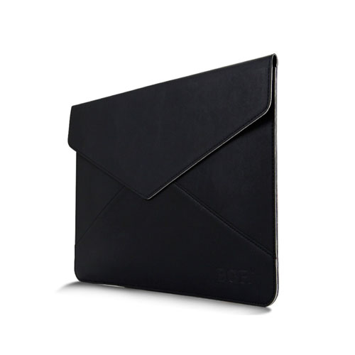 Leather Bag For 13.3 Inch Laptops 380x300mm - Black