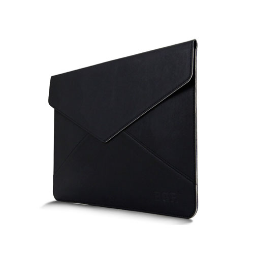 Leather Bag For 11.6 Inch Laptops 380x300mm - Black