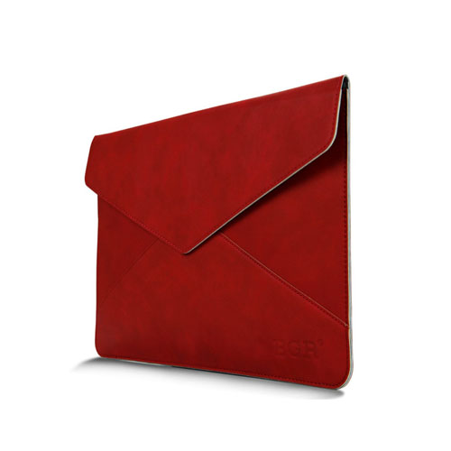 Leather Bag For 11.6 Inch Laptops 380x300mm - Red