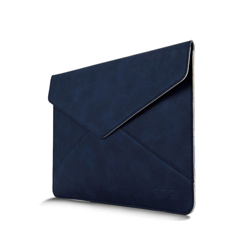 Leather Bag For 11.6 Inch Laptops 380x300mm - Blue