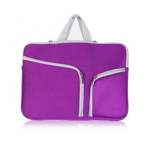 Bag Case For 11.6-12 Inch Laptops 270x210mm - Purple