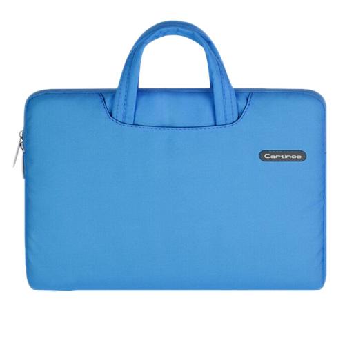 Image of   Cartinoe (Blå) Macbook Pro 13.3 Stof Taske med Lynlås