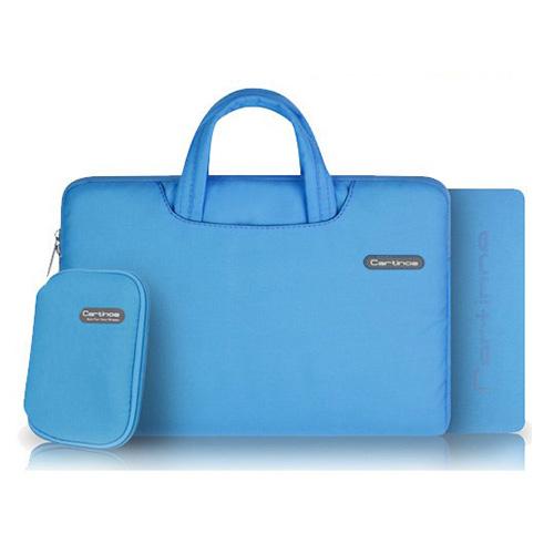 Image of   Cartinoe (Blå) Macbook Pro 15.4 Stof Taske med Lynlås