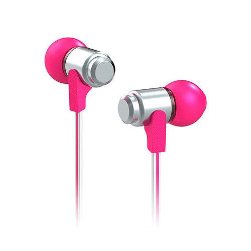 Wallytech WEA-113 (Pink/Sølv) Høretelefoner