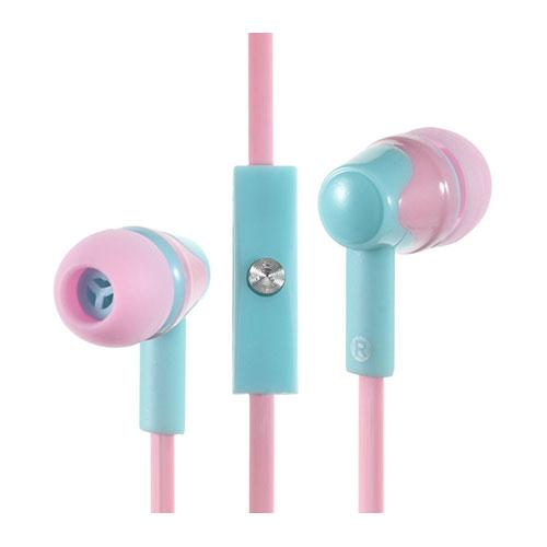Image of   PHW-203 in-ear høretelefon med mikrofon til smartphones - Pink