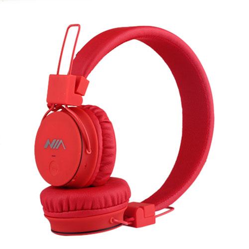 a39144d9a49 NIA-1682 Foldbar Hovedtelefon - Rød