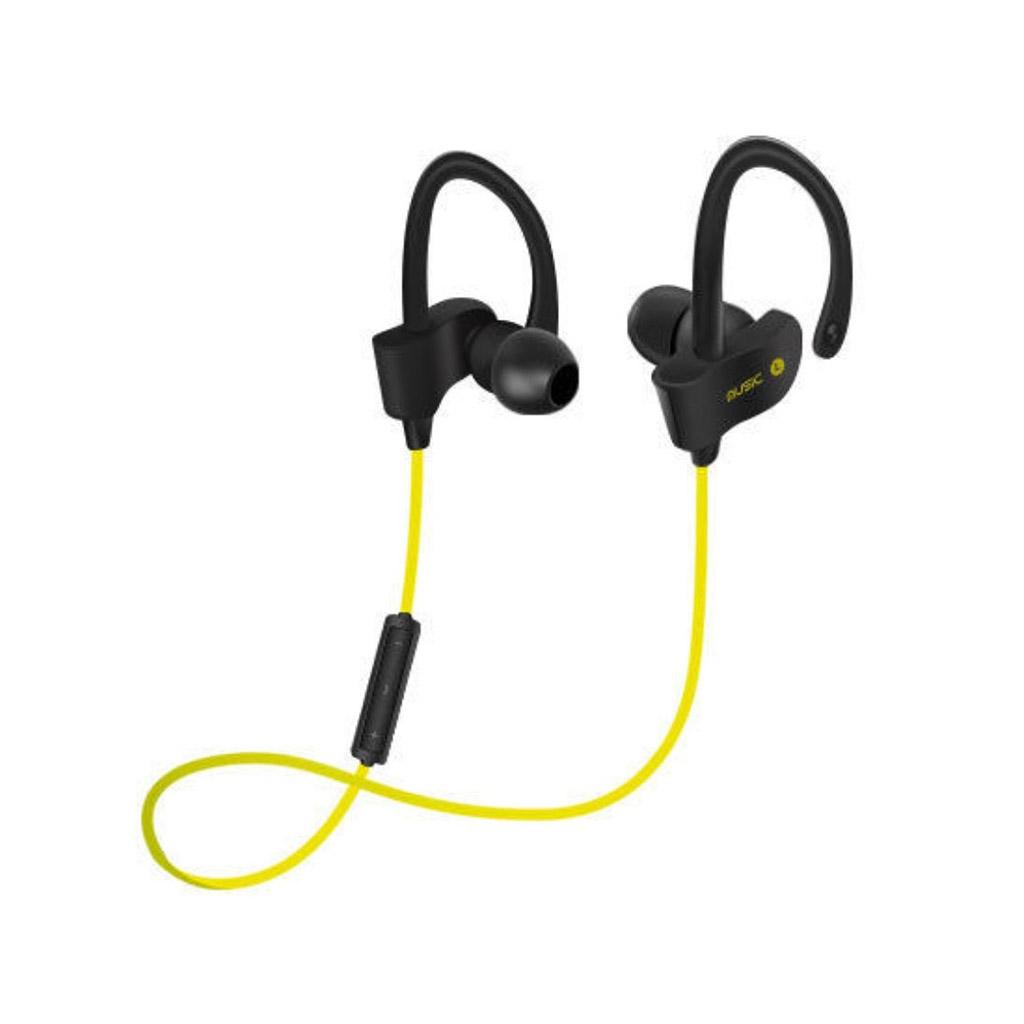 Image of   Trådløse høretelefoner med bluetooth - Gul