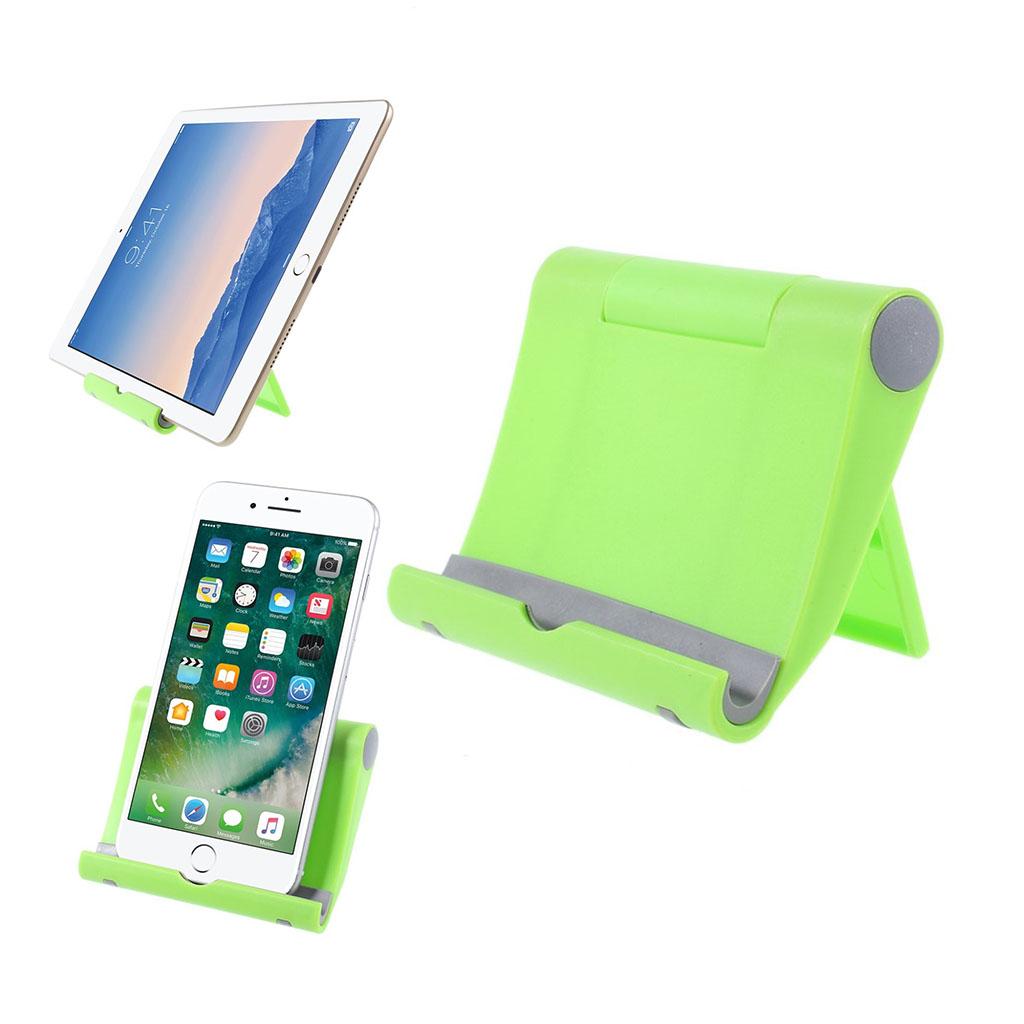 Image of   Universel justerbar bordholder for smartphones - Grøn