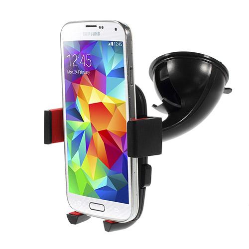 Image of   360 Graders Drejeligt Bilholder Til 4-5'' Smartphones, Bredde: 4.5-7.1cm