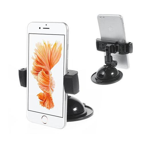 Image of   2-i-1 holder til bilen med sugekopsfunktion og klæbemiddel til smartphones med en bredde mellem 6.5 cm og 9 cm.