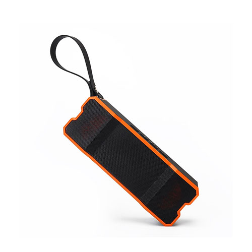 Image of   10W vandtæt trådløs højtaler med app kontrol - Orange