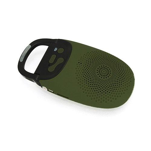 Image of   A7 (Army Grøn) 2 i 1 Bluetooth Højtaler + Kamera Udløser Fjernbetjening