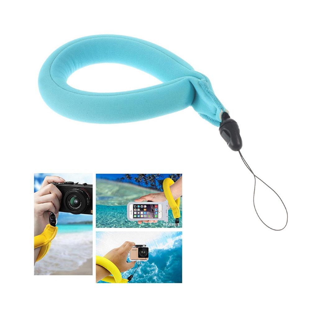 Image of   Lingle flydende håndstrop til action kameraer og smartphones - Blå