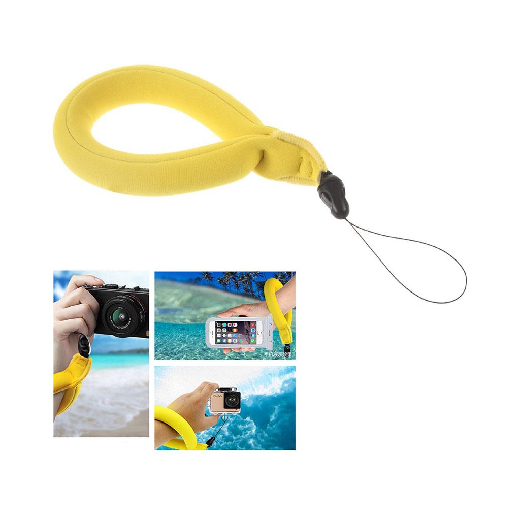 Image of   Lingle flydende håndstrop til action kameraer og smartphones - Gul