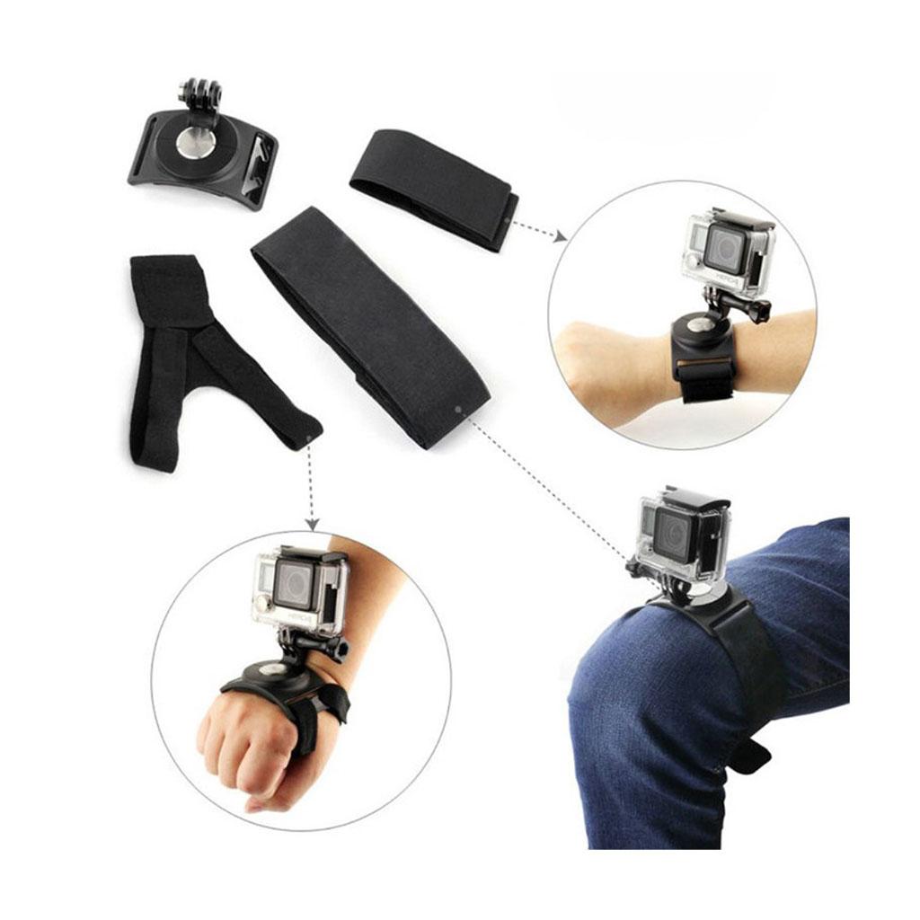 Image of   360 graders monteringssæt til kroppen til action kameraer