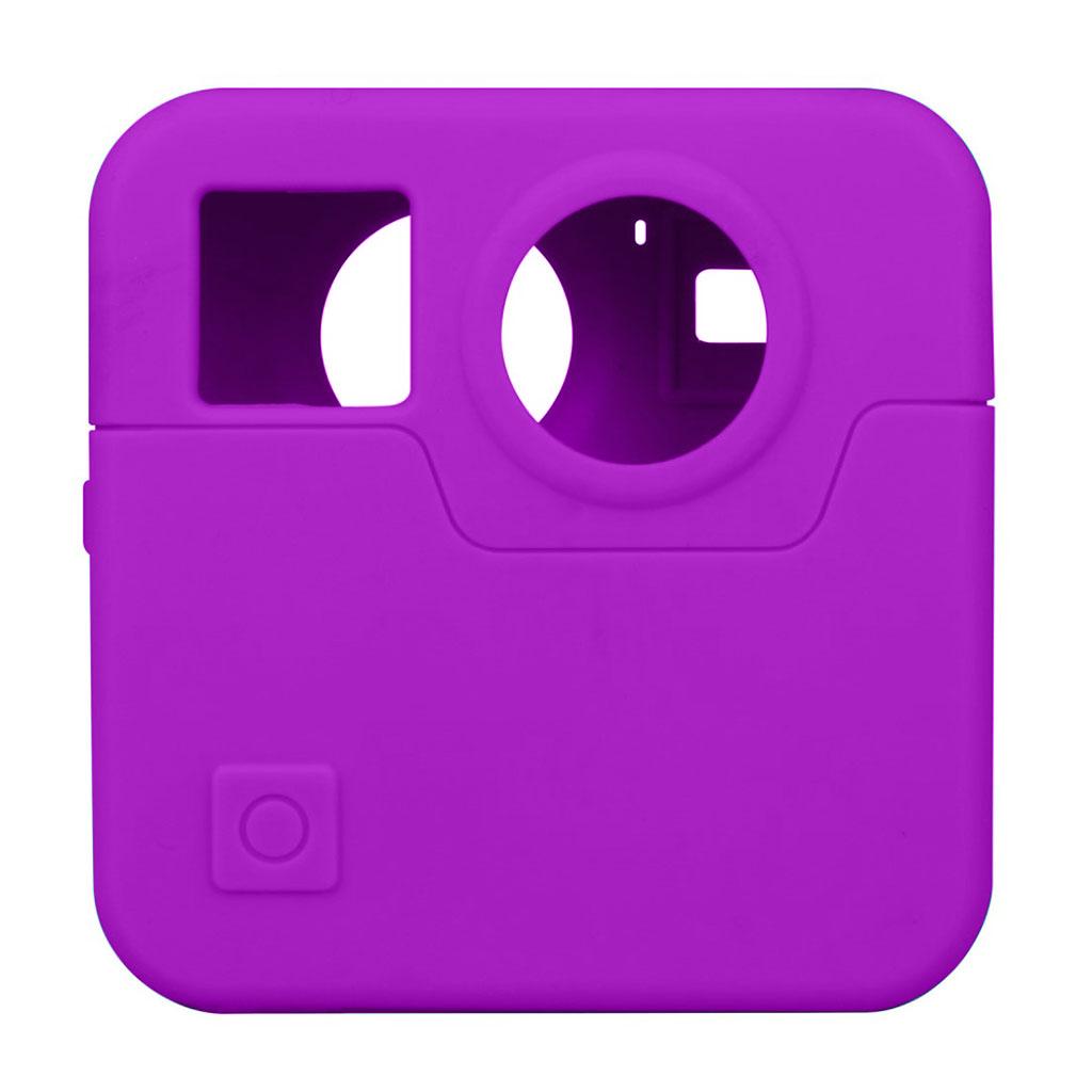 GoPro Fusion silikone etui - Lilla