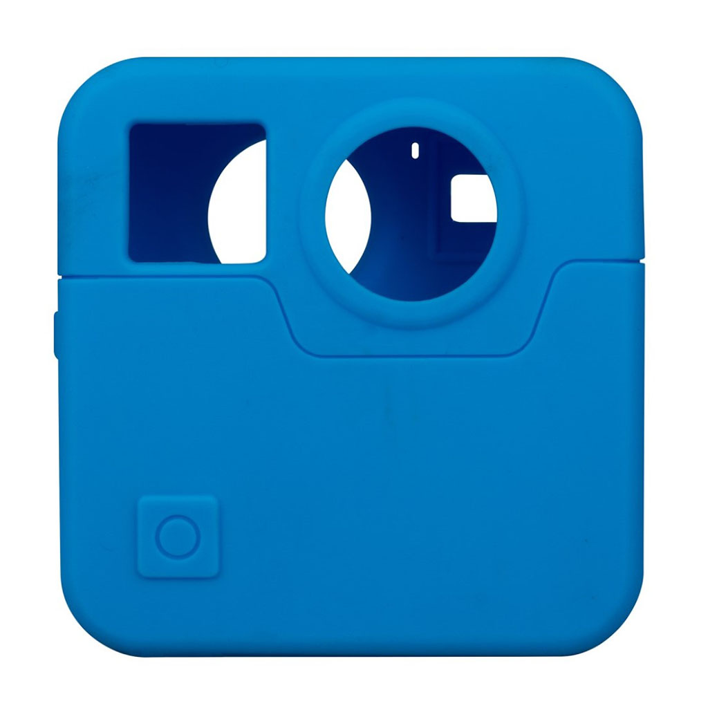GoPro Fusion silikone etui - Blå