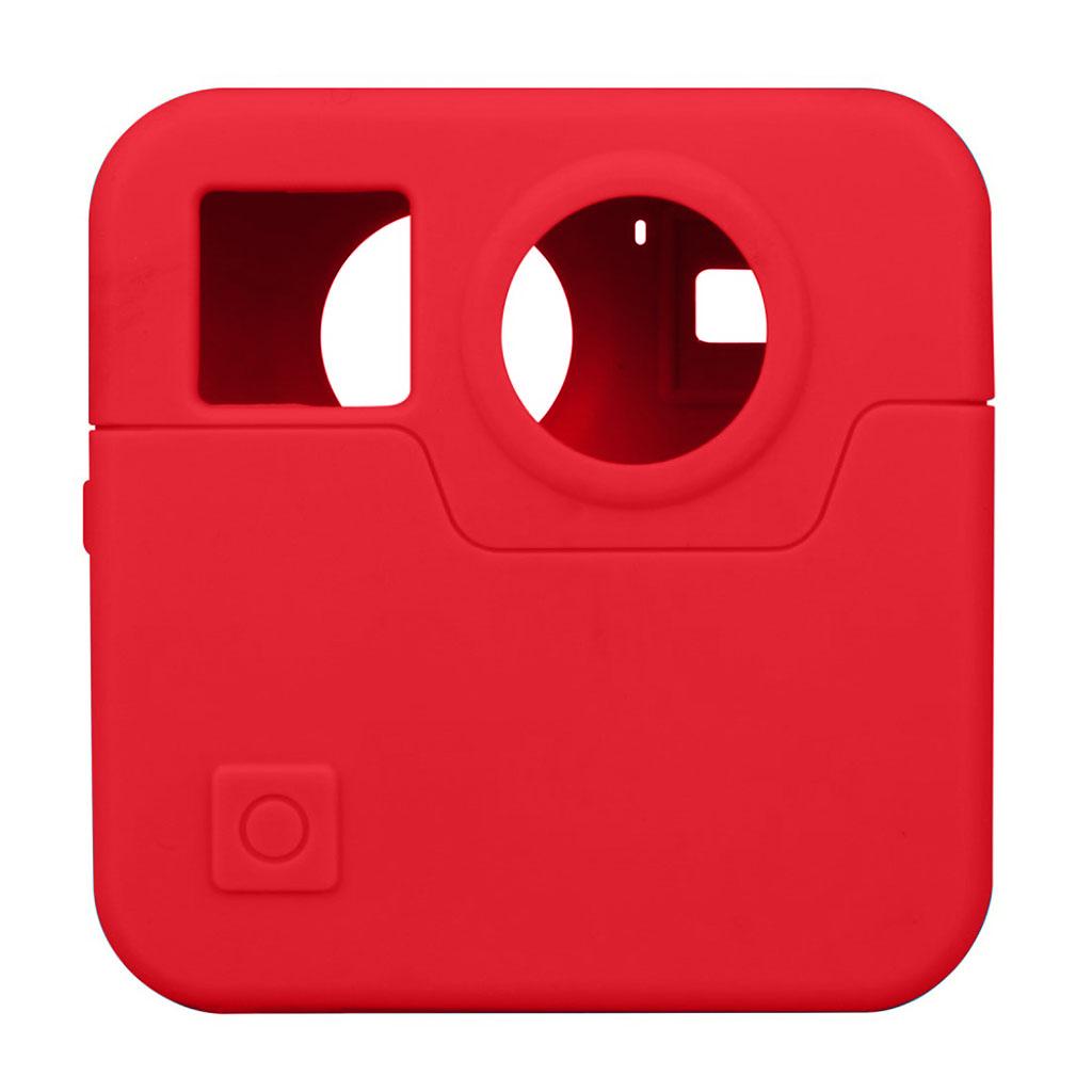 GoPro Fusion silikone etui - Rød
