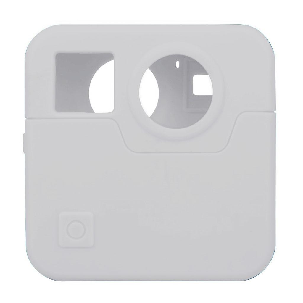 GoPro Fusion silikone etui - Hvid