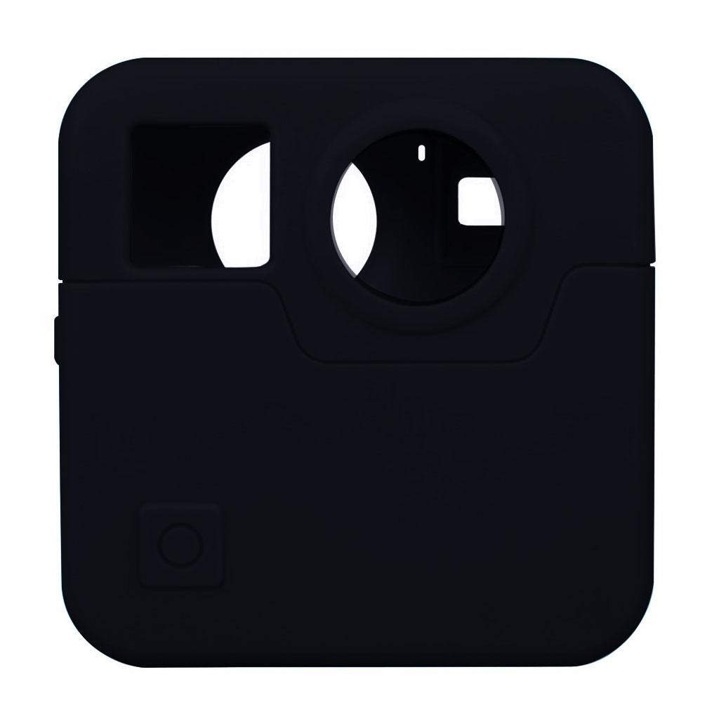 GoPro Fusion silikone etui - Sort