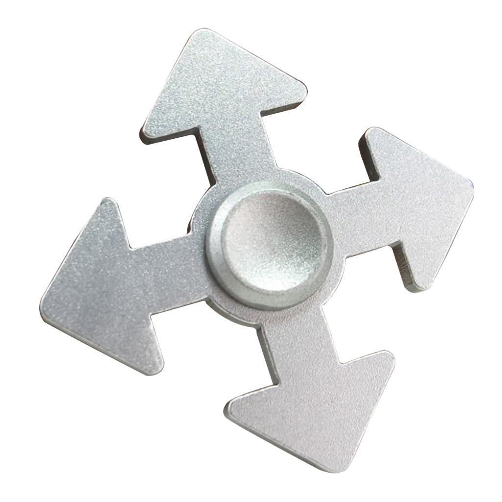 Image of   Fidget Hand Spinner i pildesign - Sølv