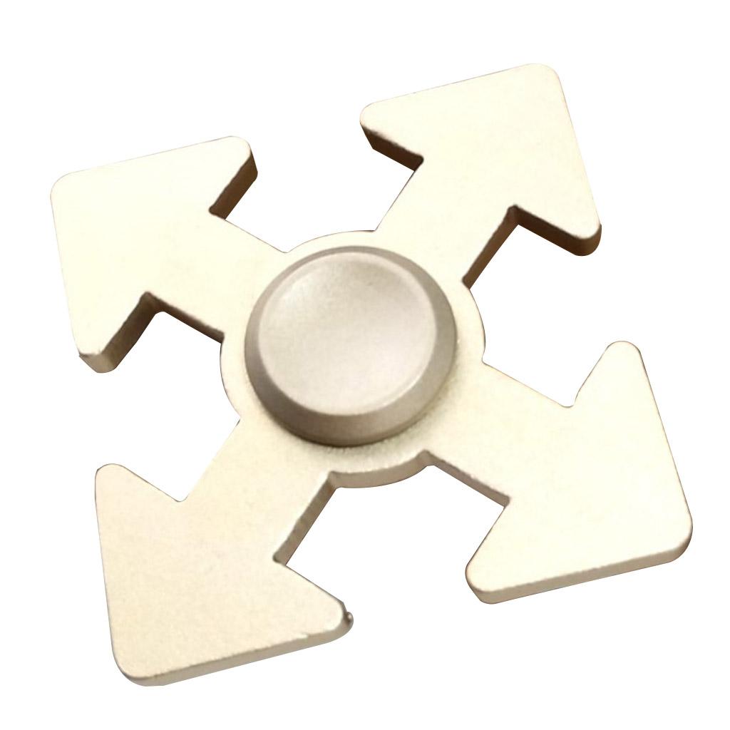 Image of   Fidget Hand Spinner i pildesign - Guld