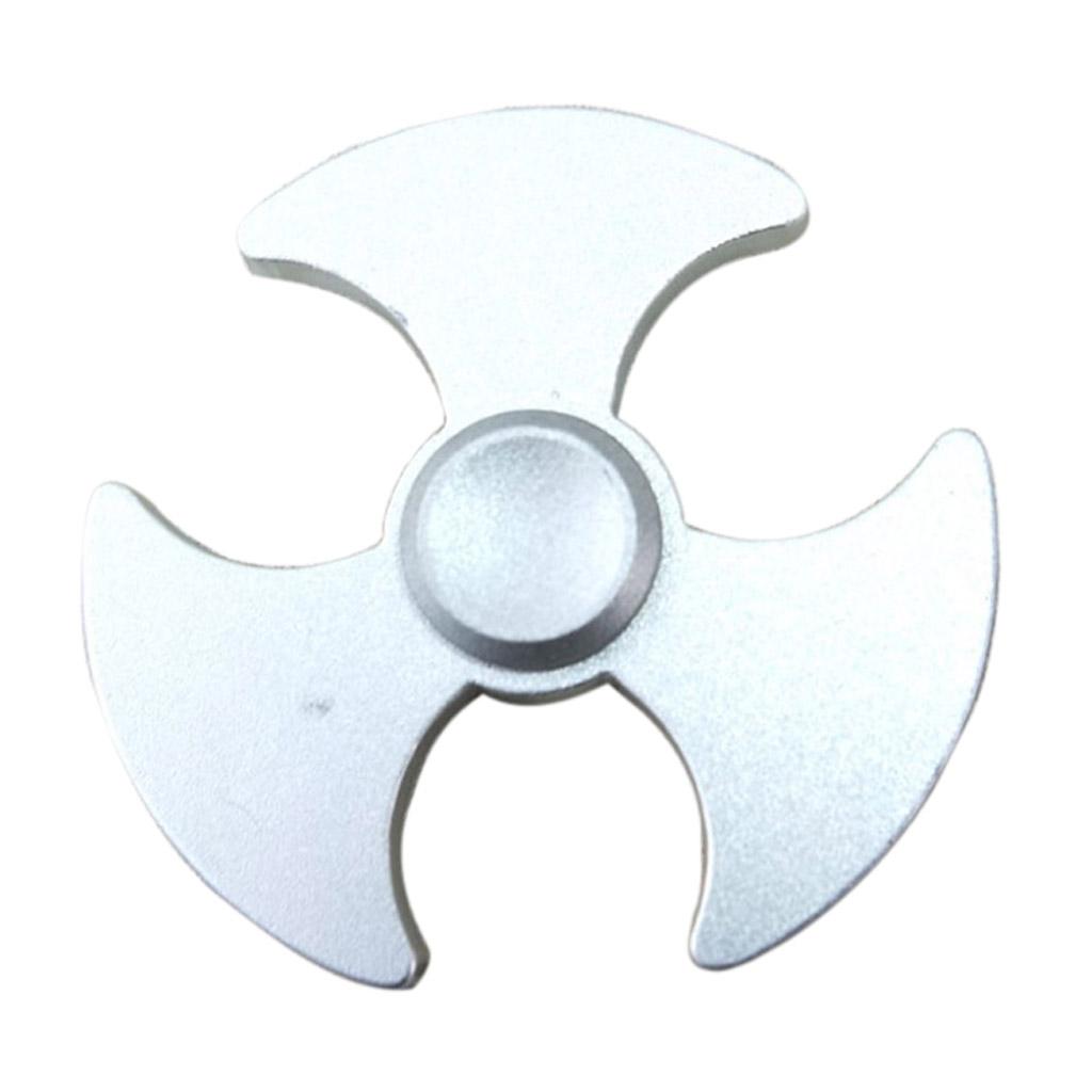 Image of   Fidget Hand Spinner i stilfuldt øksedesign - Sølv