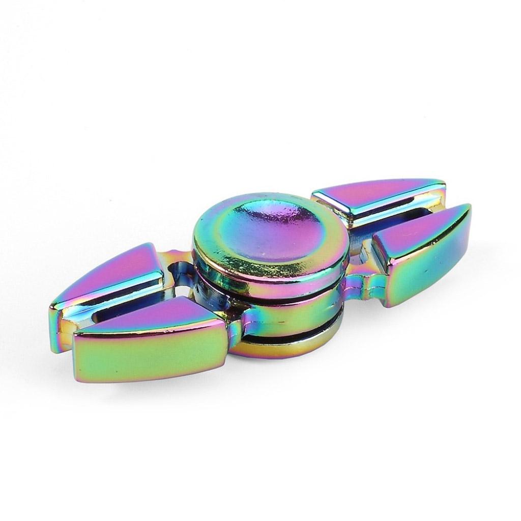 Image of   Fidget Hand Spinner i titaniumslegering - Farverig
