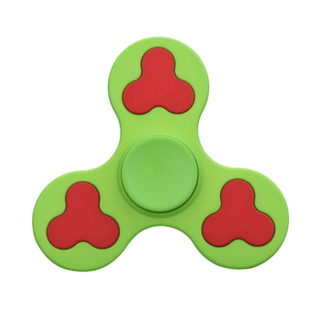 Image of   EDC Fidget Hand Spinner i to-farvet design - Grøn