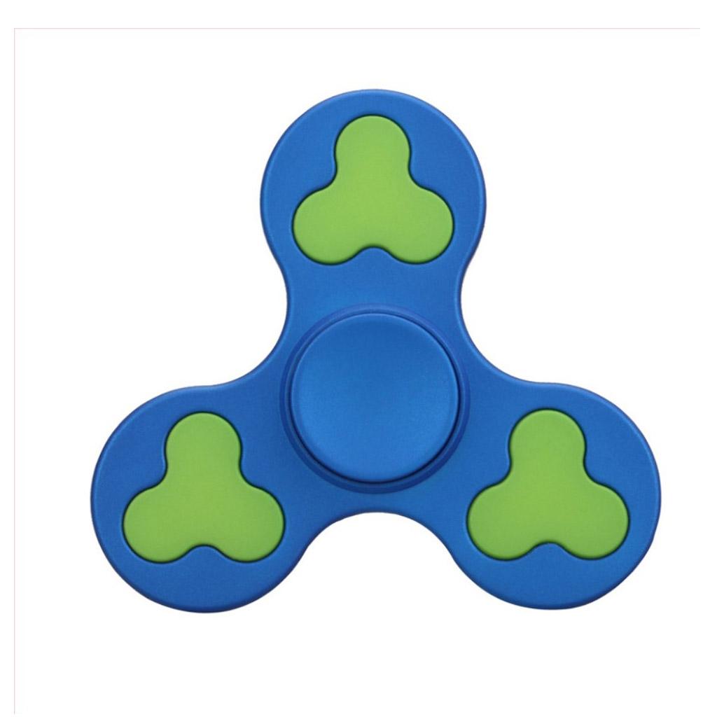 Image of   EDC Fidget Hand Spinner i to-farvet design - Blå