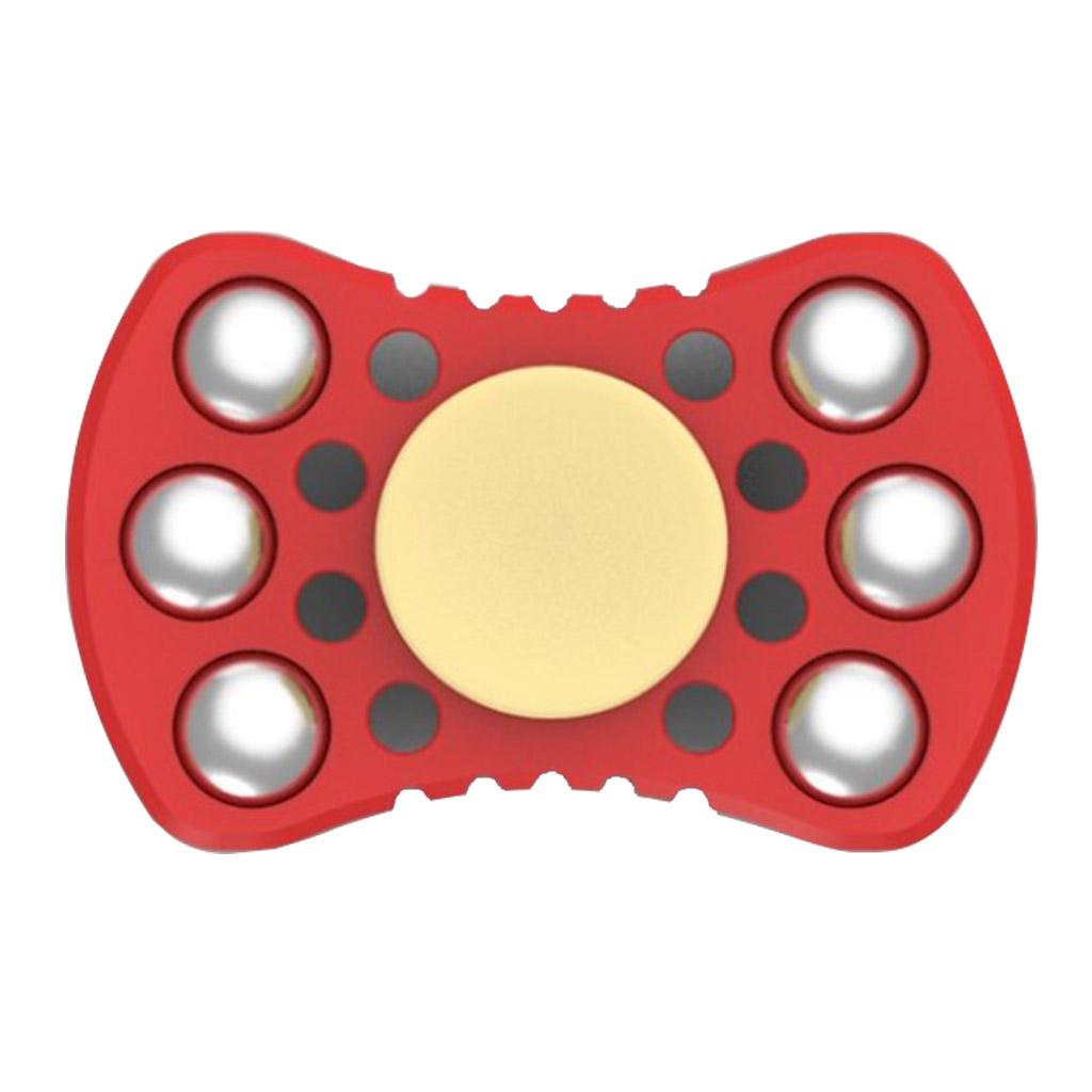 Image of   Fidget Hand Spinner med stålkuglelejer - Rød