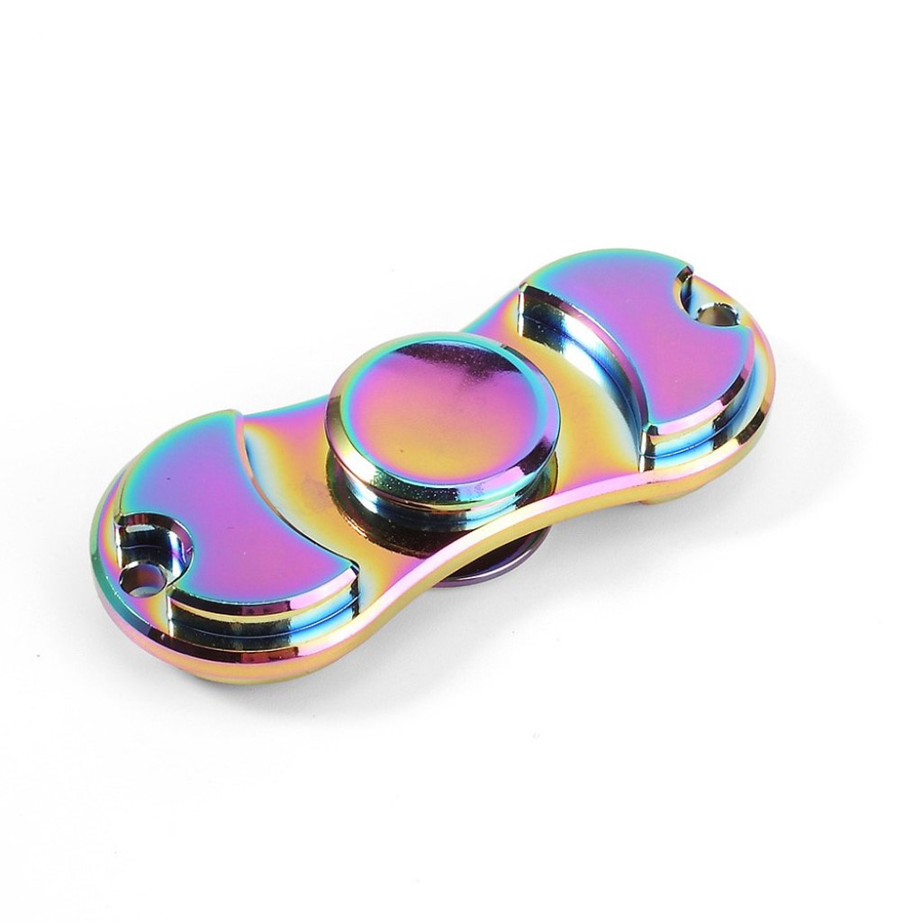Image of   Fidget Hand Spinner i et farverigt design