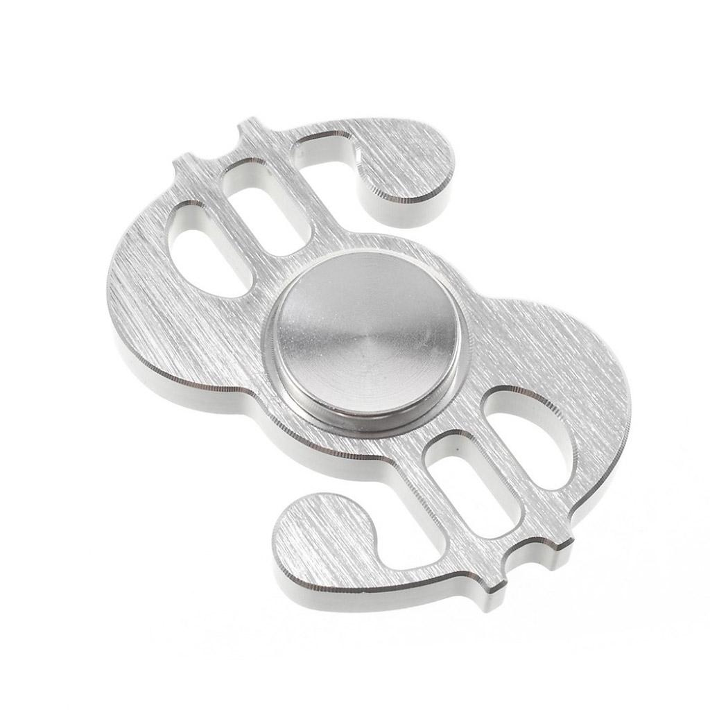 Image of   Fidget Hand Spinner i dollar-design - Sølv