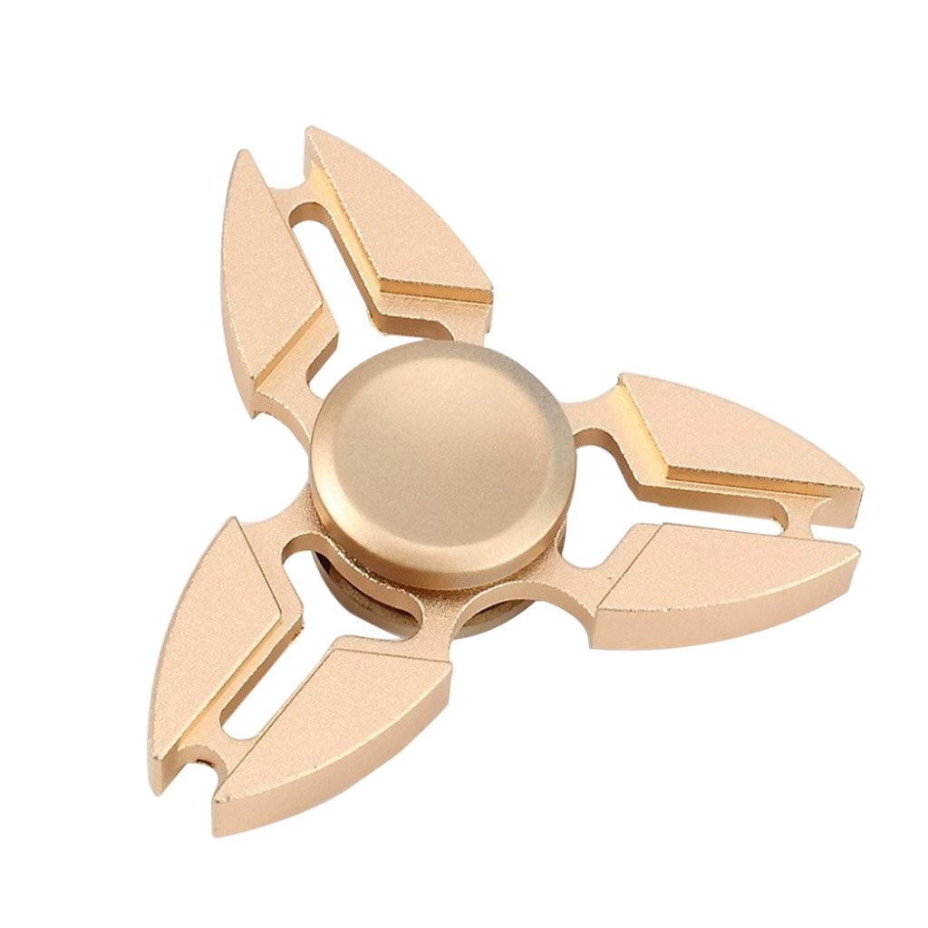 Image of   Fidget Hand Spinner af aluminiumslegering - Guld