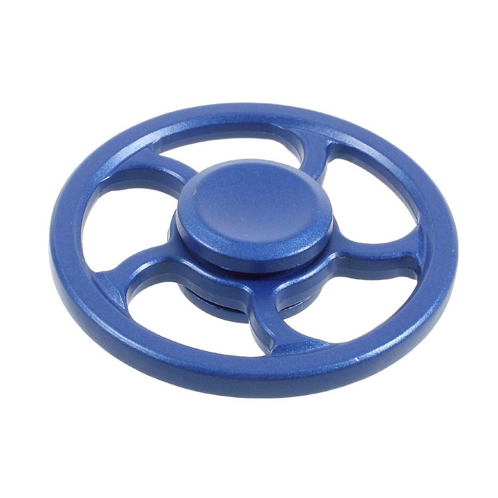 Image of   Fidget Hand Spinner i hjuldesign - Blå