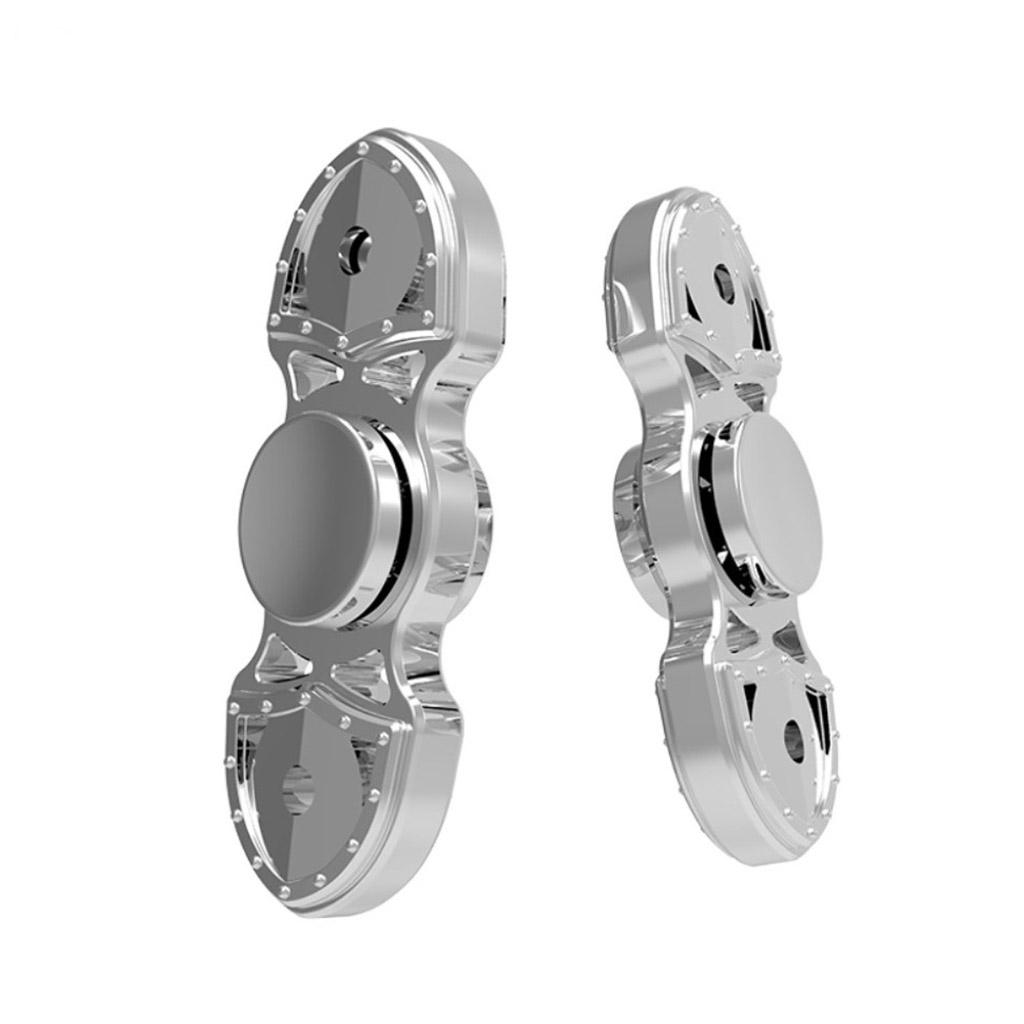 Image of   Fidget Hand Spinner i schweizer kniv design - Sølv