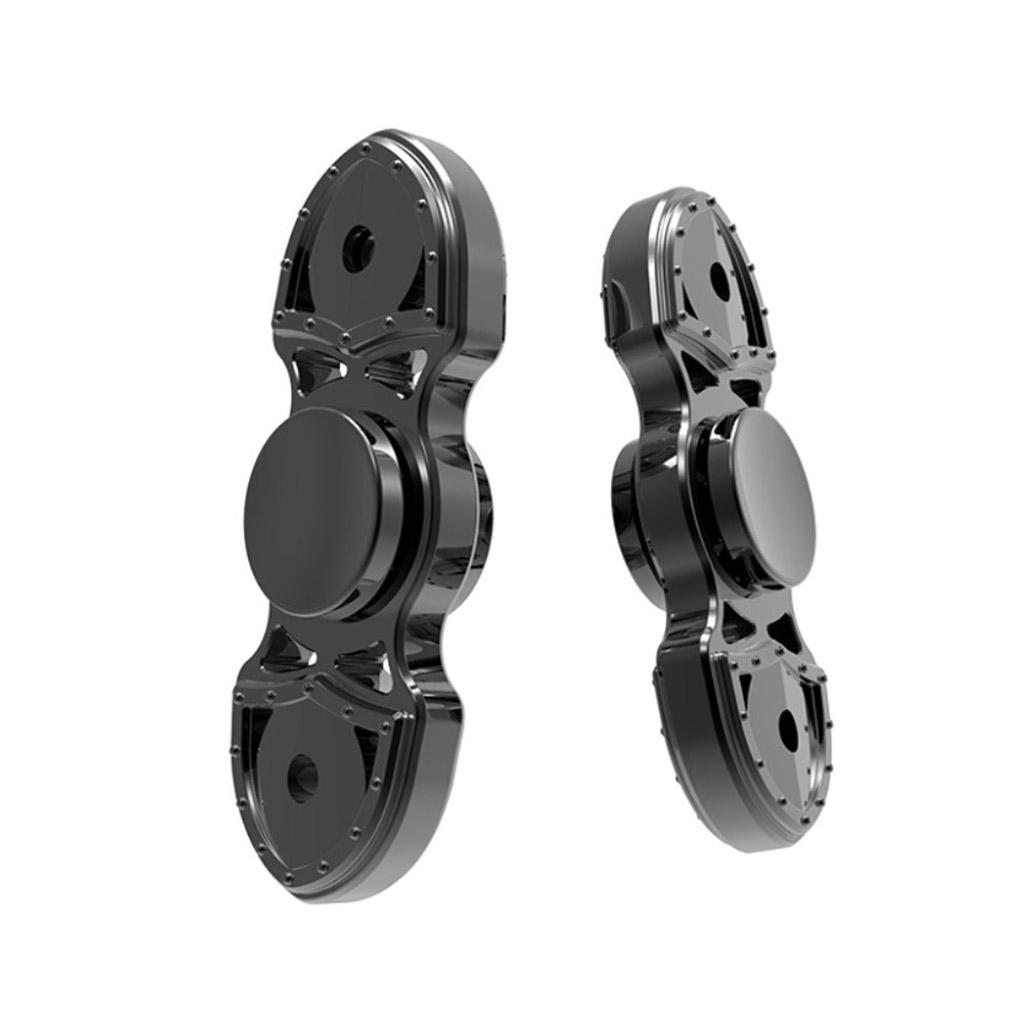 Image of   Fidget Hand Spinner i schweizer kniv design - Sort