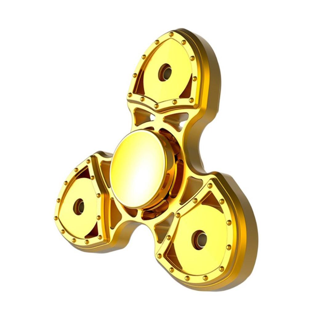 Image of   Fidget Hand Spinner med 3 vinger - Guld