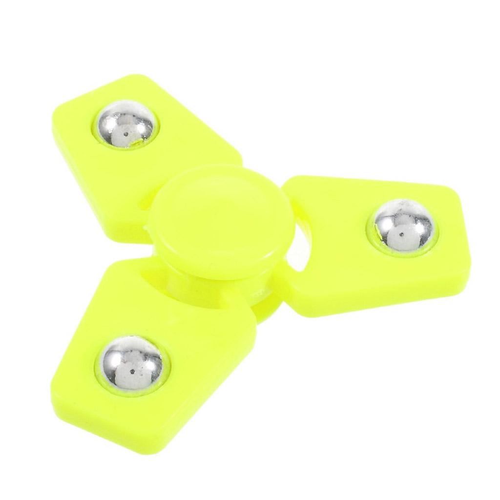 Image of   Fidget Hand Spinner i et stilfuldt design - Gul