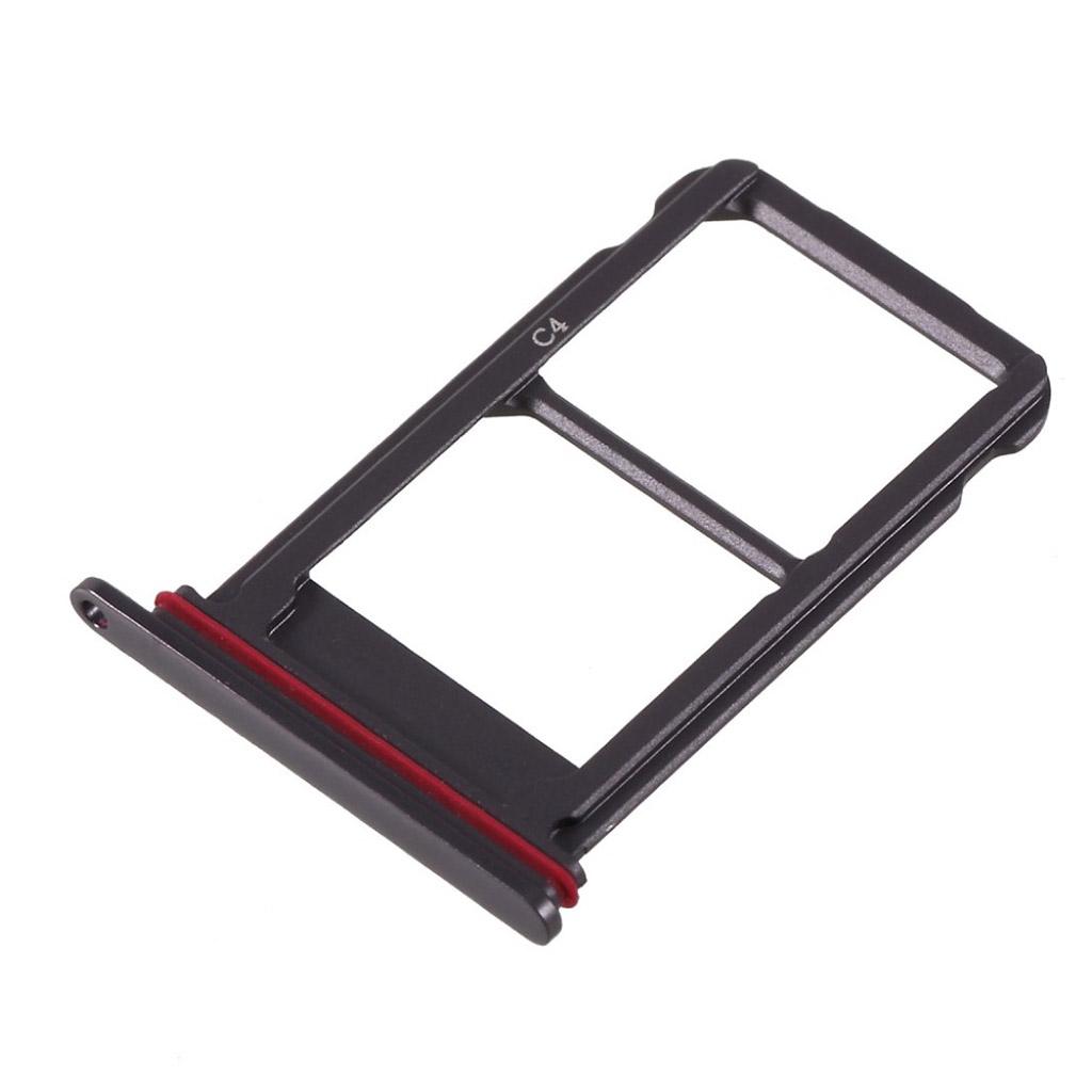 ca1f2c189f8a Huawei Mate 10 Pro OEM dual sim micro SD card tray holder - Black