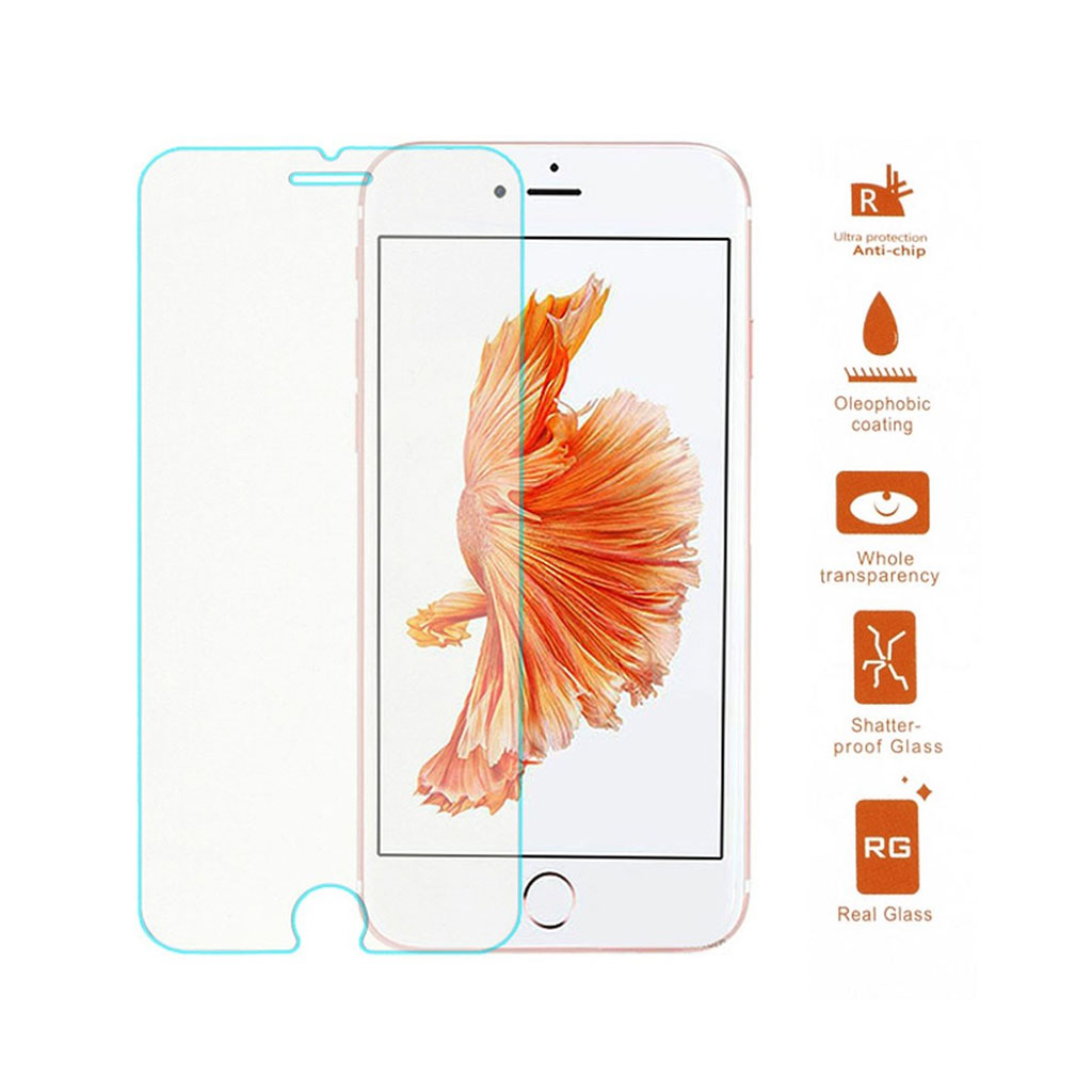 Image of   0.3mm skærmbeskyttelsesglas til iPhone 7 Plus