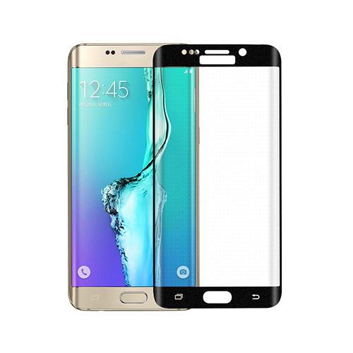 Image of   0.3mm kurvet skærmbeskyttelsesfilm i hærdet glas til Samsung Galaxy S6 edge Plus - Sort