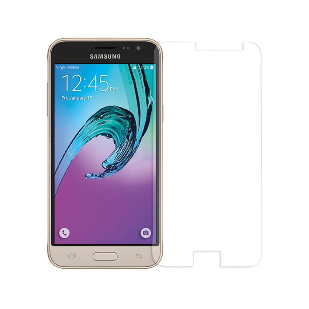 Image of   0.3mm hærdet skærmbeskyttelsesglas til Samsung Galaxy J3 (2016) - Arc Edge