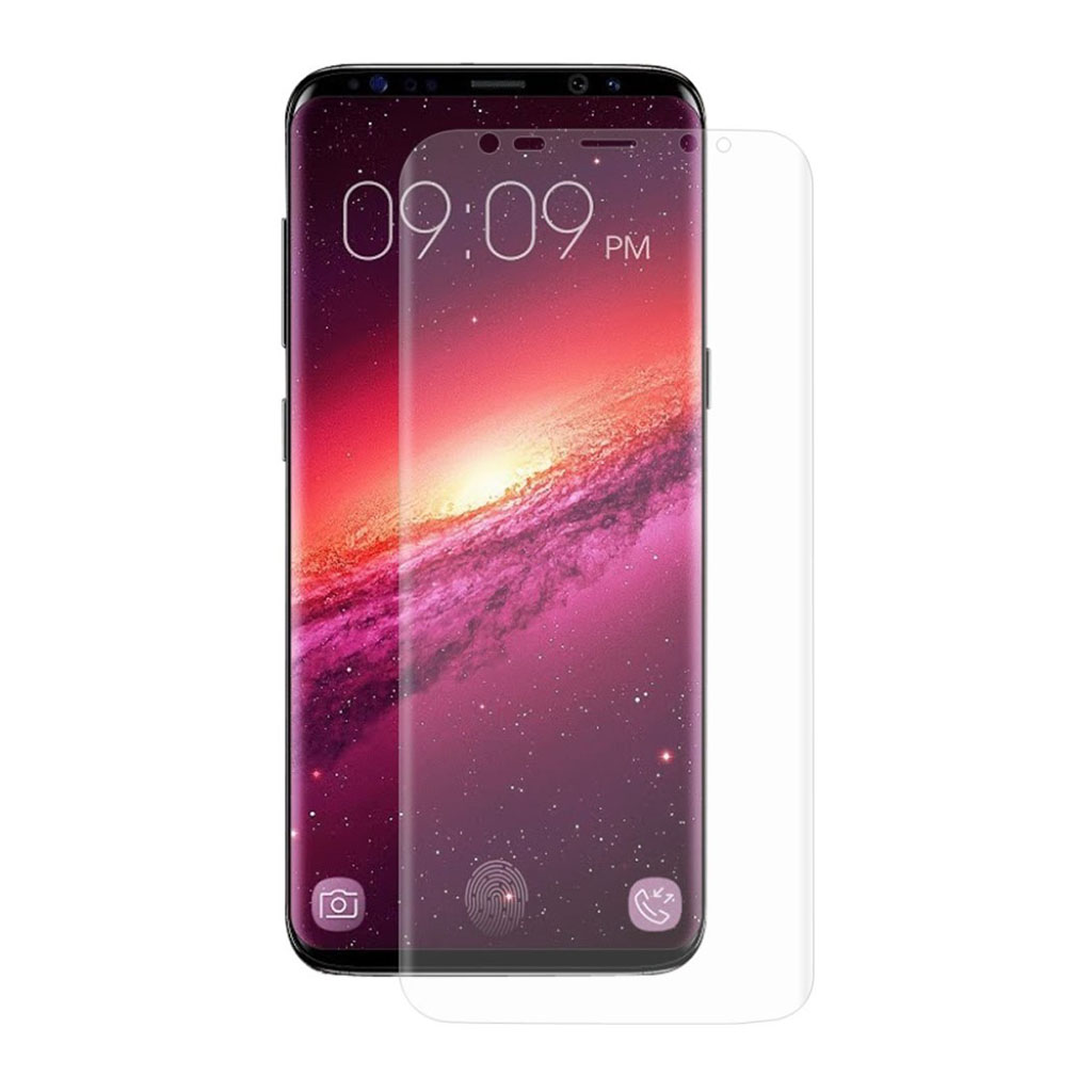 HAT PRINCE Samsung Galaxy S9 Plus full coverage soft screen protector tempered glass